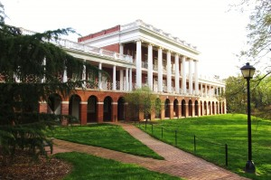 (Image of the front portion of Melchers Hall in 1994, published in the University of Mary Washington Blog)